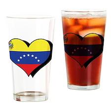 I Love Venezuela Pint Glass