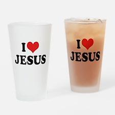 I Love Jesus 3 Pint Glass