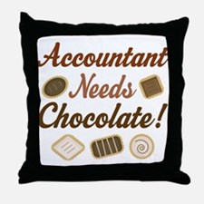 Accountant Gift Funny Throw Pillow