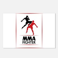 MMA Fighter Postcards (Package of 8)