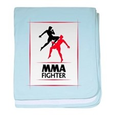 MMA Fighter baby blanket