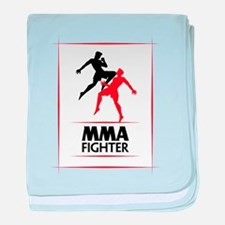 MMA Fighter baby blanket