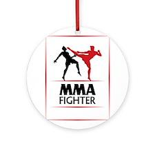 MMA Fighter Ornament (Round)