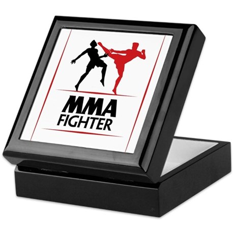 MMA Fighter Keepsake Box