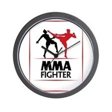 MMA Fighter Wall Clock