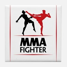 MMA Fighter Tile Coaster