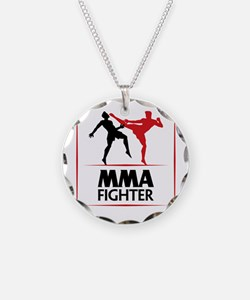MMA Fighter Necklace