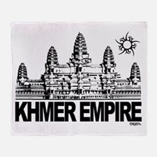 Cute Angkor Throw Blanket