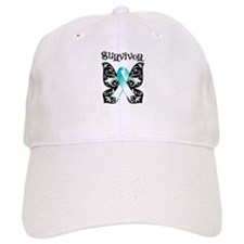 Butterfly Cervical Cancer Baseball Cap