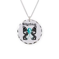 Butterfly Cervical Cancer Necklace