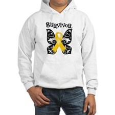 Butterfly Childhood Cancer Hoodie