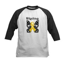 Butterfly Childhood Cancer Tee