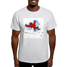 The Devil Makes a Snow Angel T-Shirt
