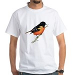 Baltimore Oriole White T-Shirt