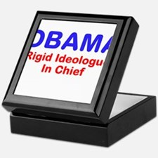 "OBAMA - ""Rigid Ideologue"" In Keepsake Box"