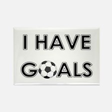 I HAVE GOALS Rectangle Magnet