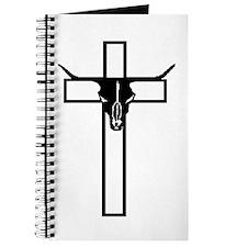 Unique Bull skull Journal