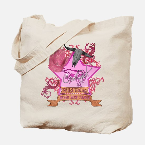 CowGirl Wild Thing never been Tote Bag
