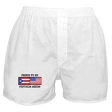 Puerto Rican American Boxer Shorts