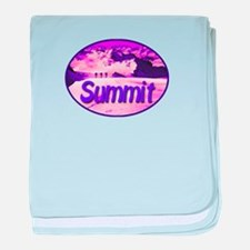 Summit baby blanket