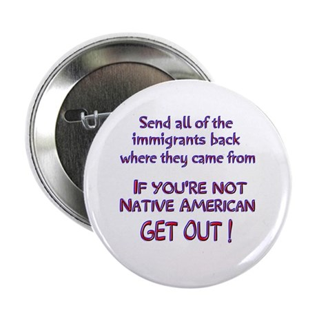 Not Native American ? Button