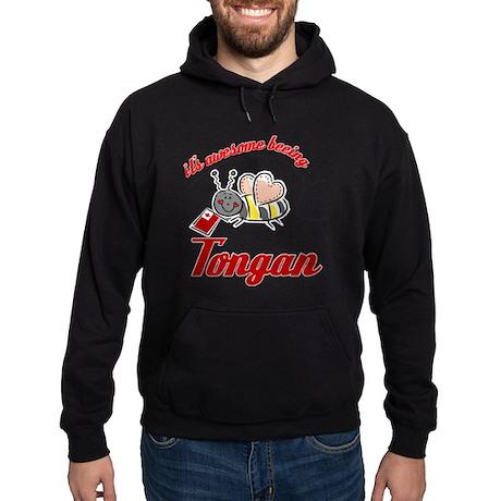Awesome Being Tongan Hoodie (dark)