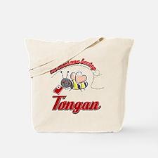Awesome Being Tongan Tote Bag
