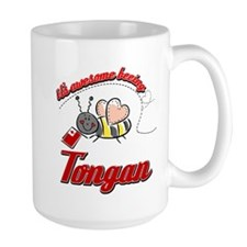 Awesome Being Tongan Mug