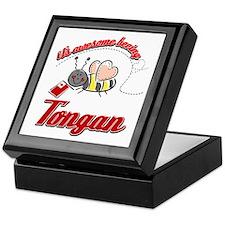Awesome Being Tongan Keepsake Box