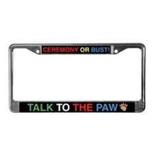 Ceremony 3 License Plate Frame