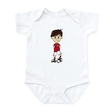England Soccer Boy Infant Bodysuit