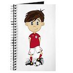 England Soccer Boy Journal