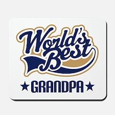 Grandpa (Worlds Best) Mousepad