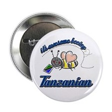"Awesome Being Tanzanian 2.25"" Button"