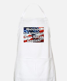 Welcome to America BBQ Apron