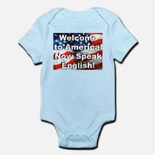 Welcome to America Infant Creeper