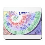 """TimeLineMap"" Mousepad"