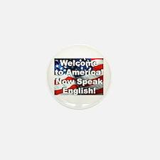 Welcome to America Mini Button