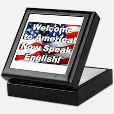 Welcome to America Keepsake Box