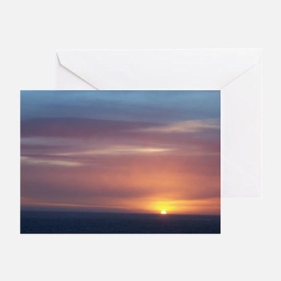 Antarctica Sunset Greeting Cards (Pk of 10)