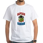 Captain GEDCOM White T-Shirt