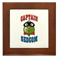 Captain GEDCOM Framed Tile