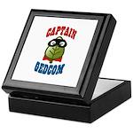 Captain GEDCOM Keepsake Box