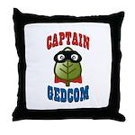 Captain GEDCOM Throw Pillow