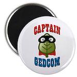 Captain GEDCOM Magnet