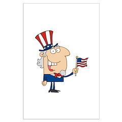 Patriotic Man Posters