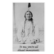 To me, you're all illegal immigrants. Postcards (P