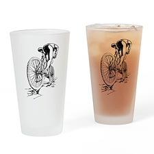 Ride. Mountain Biker Pint Glass