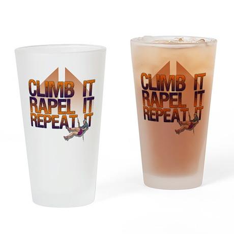 Repel It/Climber Pint Glass