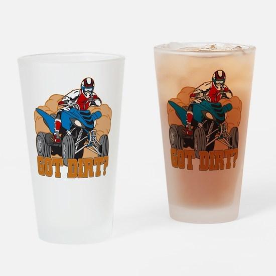 Got Dirt ATV Drinking Glass